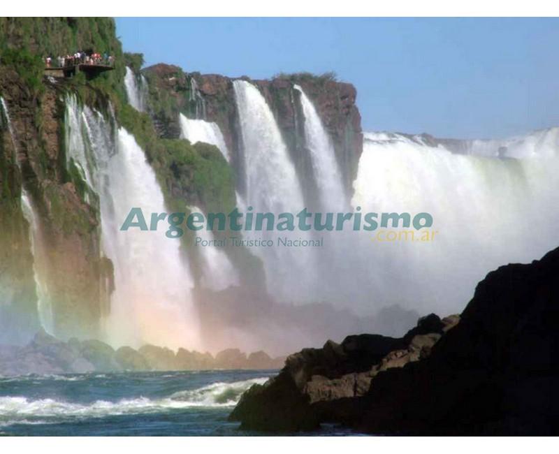 Arco Iris, Cataratas del Iguazu, Puerto Iguazu