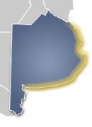 Mapa Costa Atlantica de Buenos Aires