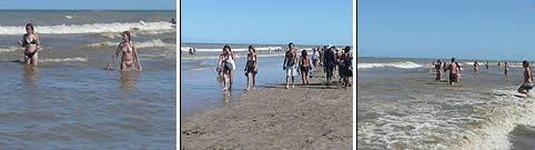 Playas en Pinamar Buenos Aires
