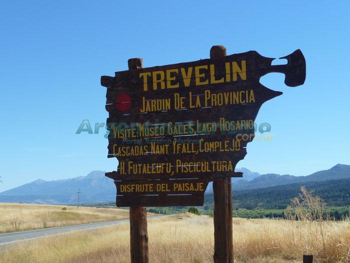 Ingreso a Trevelin, Chubut